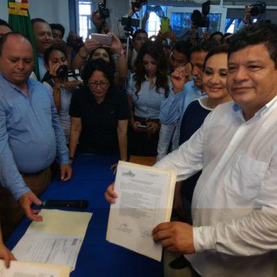 A FINES DE ABRIL DEJARÁ LA PRESIDENCIA MUNICIPAL DE OPB: Va Luis Torres Llanes por diputación federal