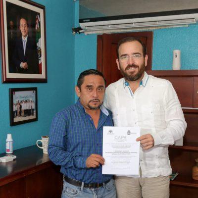 Nombran gerente de CAPA en Felipe Carrillo Puerto
