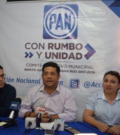Panistas cuestionan inseguridad en Cancún