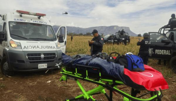 Por error humano, desplome de helicóptero de Policía Federal en Jalisco