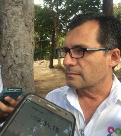 Roger Espinoza Rodríguez niega pérdidas en obras y resalta 430 mdp invertidos en obras en Cancún