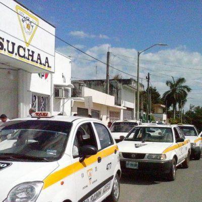 Taxistas de Chetumal buscan a su compañero Yerley Alexis Uribe Diaz, desaparecido hace 72 horas