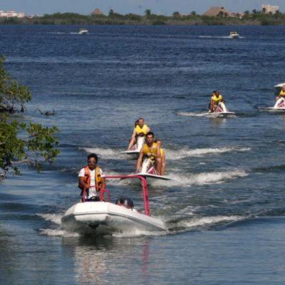 Gasolinera amenaza ecosistema en Laguna Bojórquez en Cancún