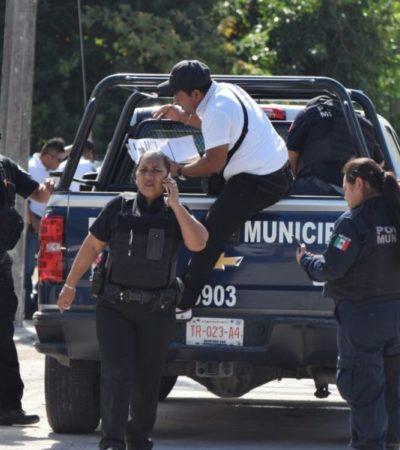Detienen a tres presuntos asaltantes en la 231