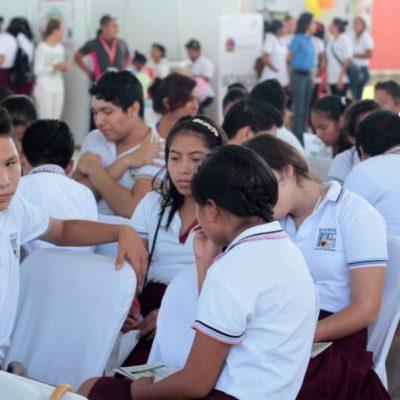 Crece consumo de alcohol y drogas en secundarias de Benito Juárez, Solidaridad y OPB