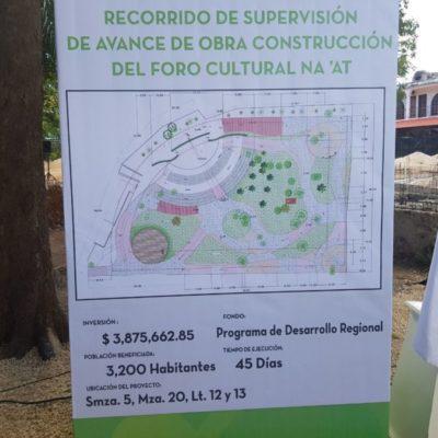 Ponen otra piedra para el rescate urbano de Centro Histórico de Cancún