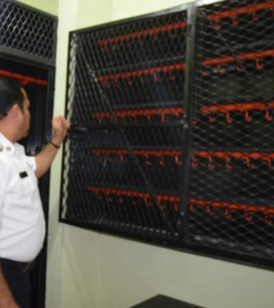 Nueva armería de Policía Turística en Cancún contribuye a mejorar sus operaciones