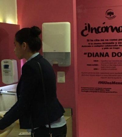 El 'Diana Doble', bebida contra el acoso, se empezará a usar en Cancún