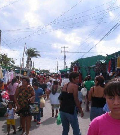 Mientras unos pagan impuestos de basura, protección civil, licencia de funcionamiento… Otros sólo invierten sólo $250 pesos para vender en tianguis