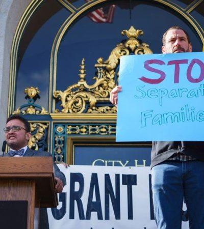 Amenaza Trump a California, 'santuario de inmigrantes', con retirarle la patrulla fronteriza