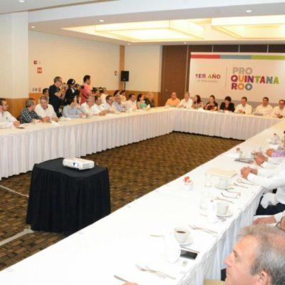 A un año de su creación, 'Pro Quintana Roo' tiene el primer acercamiento con funcionarios estatales para explicar qué hace y para qué sirve