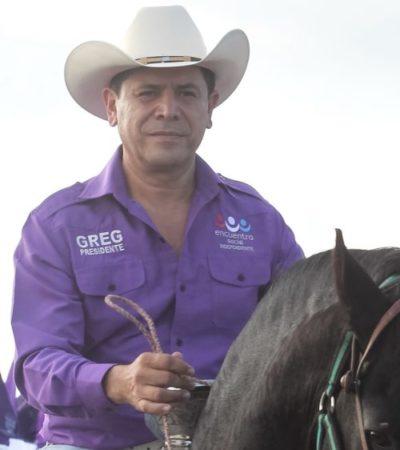 Gregorio Sánchez cuestiona candidatos de Morena y exige posición para PES en Senado y diputación en Distrito 03 de Cancún