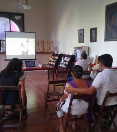 Con  película sobre comunidades mayas tratan de preservar saberes y evitar éxodo juvenil en FCP