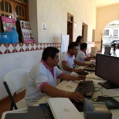 Aún quedan 800 credenciales de elector sin reclamar en FCP