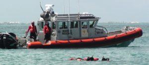 Mujer de la tercera edad se ahoga buceando en Cozumel