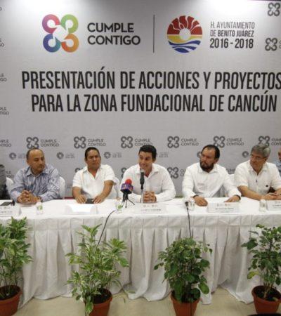 ANUNCIAN REHABILITACIÓN DEL CENTRO DE CANCÚN: Con inversión de 42.5 mdp, confirma Remberto proyecto 'Yaakun Cancún' para rescatar el corazón de la ciudad