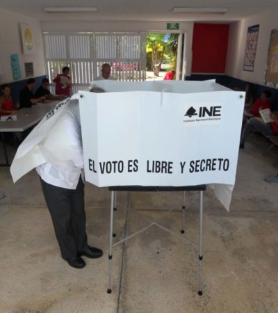 Al reutilizar material electoral, IEQROO anuncia ahorro de más de 8 mdp