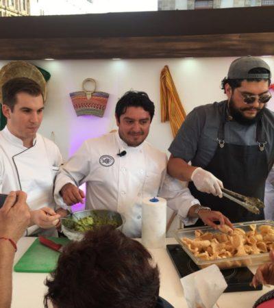 Presentan platillos típicos de Quintana Roo en feria turística