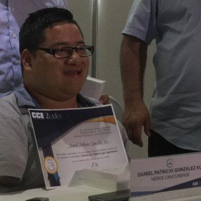 Un héroe cancunense llamado Daniel Patricio González Puc
