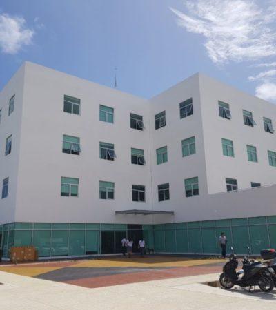 Lejanía, falta de tienditas y materiales endebles en nuevas oficinas estatales en la Huayacán genera molestia ¡en burócratas!
