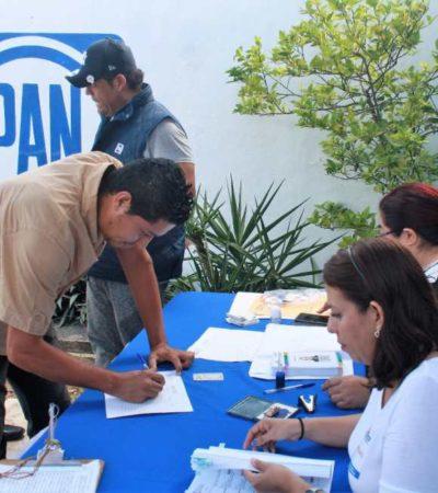 Votan panistas de QR por Anaya, precandidato único