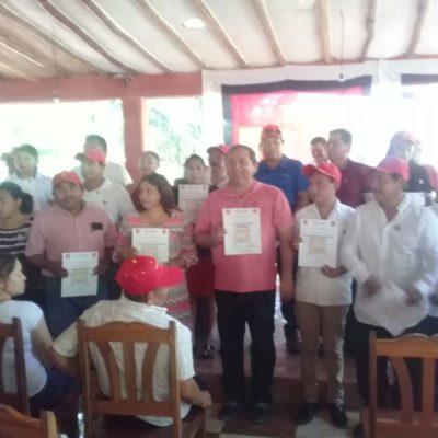 Asume Nivardo Mena dirigencia petista en Lázaro Cárdenas