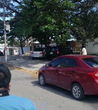ALARMA DE LA REGIÓN 230 A LA 92: Persecución y balacera durante 15 minutos en Cancún