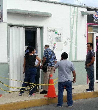 TRES DE TRES EN COZUMEL: Roban tres comercios de un golpe durante la madrugada en la isla