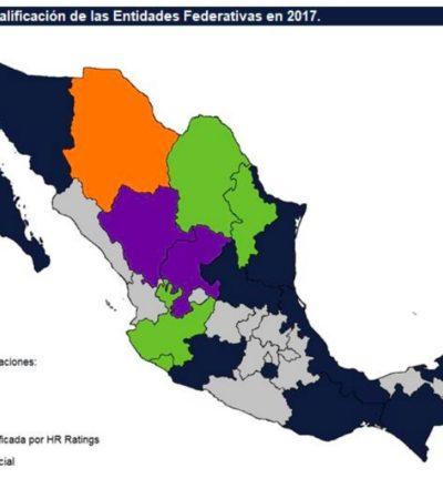 Quintana Roo, entre los 6 estados que mejoraron en su manejo financiero, según la calificadora HR Raitings