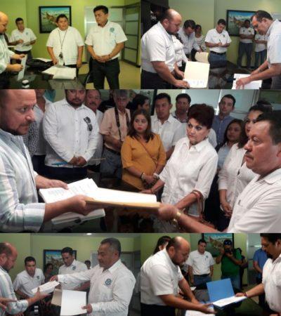Hoy entregan constancias a aspirantes a dirigir sindicato de taxistas de Playa del Carmen