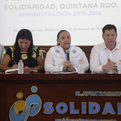Aprueba Cabildo condonación del pago de derechos para permisos de construcción de bardas perimetrales en Solidaridad