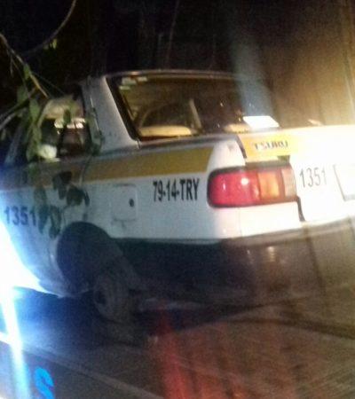 ASESINATO EN EL SUR DE QR: Hallan cadáver de taxista desaparecido en Xul Ha