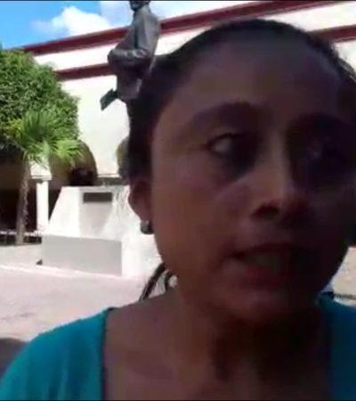 Acusa delegada a Paoly de beneficiar sólo a priistas