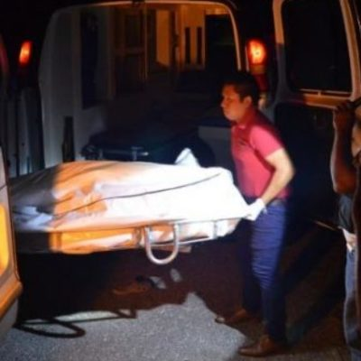 EJECUCIÓN EN LIMONES: Asesinan a un hombre de 9 disparos en el sur de Quintana Roo