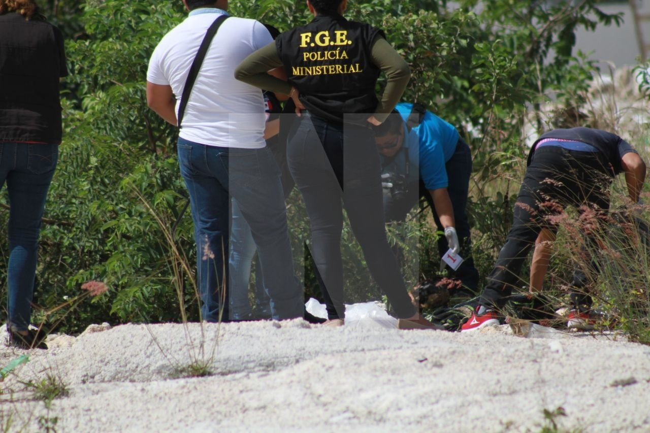PRIMER EJECUTADO DE FEBRERO: Hallan cabeza humana en la SM 251 de Cancún