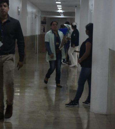Ingresa al IMSS de la 509 una persona que fue atacada a cachazos con un revolver en la Lombardo Toledano de Cancún