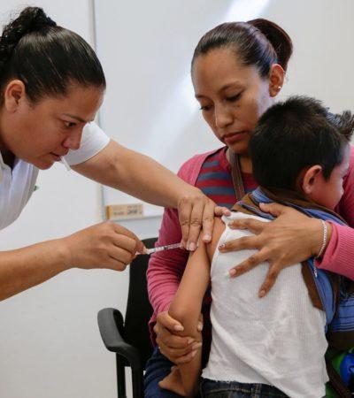 Aplican vacunas y anuncian nuevas fechas para despliegue de brigadas de salud en Solidaridad