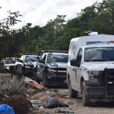 APARECE ENSABANADO: Hallan cuerpo de persona ejecutada en la Región 213 de Cancún