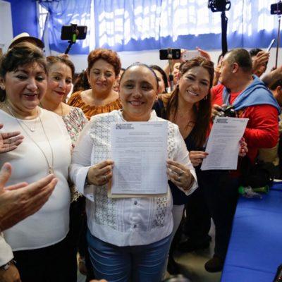 LLAMA CRISTINA A VOLVER A HACER HISTORIA: Se registra Alcaldesa como aspirante a la candidatura para buscar la reelección en Solidaridad