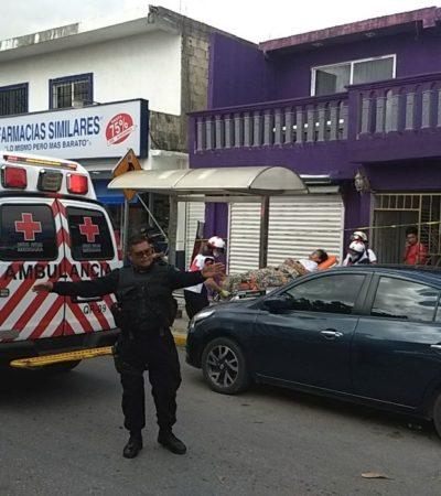 OTRO BALEADO EN CANCÚN: Disparan contra un hombre en la Región 101, sobre la Ruta 4