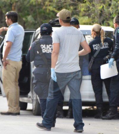 OPERATIVO DE FEDERALES EN BONFIL: Saldo preliminar de dos detenidos y el aseguramiento de armas, drogas y un vehículo