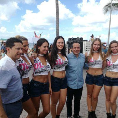 Encabeza Gobernador festejos del carnaval en Cozumel