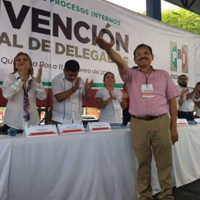 Confirman a Martín de la Cruz como candidato priista para Solidaridad
