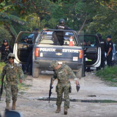 OPERATIVO EN VALLE VERDE: Enfrentamiento con policías termina con un detenido en colonia irregular de Cancún