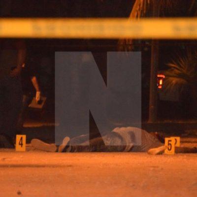 EJECUTADO EN LA REGIÓN 247: Matan a balazos a una persona en Cancún