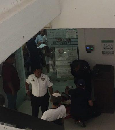 Desalojan parcialmente el Palacio Municipal de BJ por supuesta amenaza de bomba