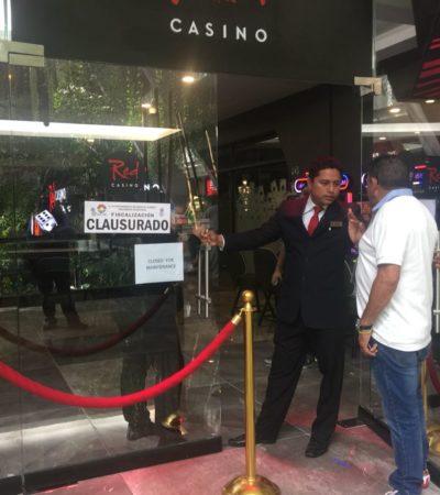 CLAUSURAN CASINO RED DEL HOTEL GRAN OASIS: Desde febrero del 2017 no pagaban permisos ni derechos, según Fiscalización de Cancún