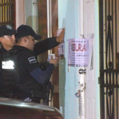 ASEGURA PGR VIVIENDA EN LA REGIÓN 215: Fuerte operativo de federales en el fraccionamiento Los Héroes de Cancún