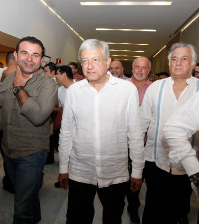 CONVOCA AMLO A IP, PERO NO CONVENCE: López Obrador se reúne con empresarios en Cancún, pero divide opiniones