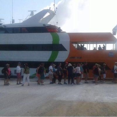Calica abre puerto para traslado de pasajeros hacia Cozumel
